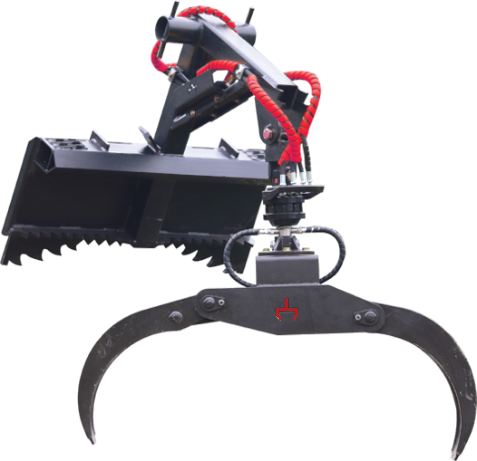 Branch Manager HD Log Grapple For Skid Steers & Wheel Loaders